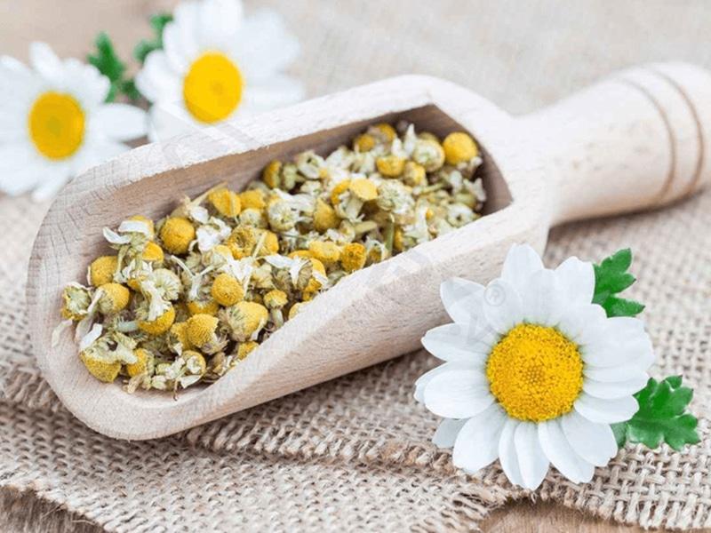 khử mùi bằng thảo dược khô