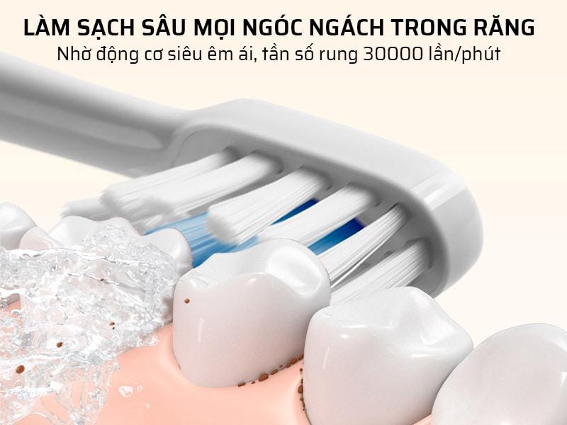 Làm sạch mọi ngóc ngách răng
