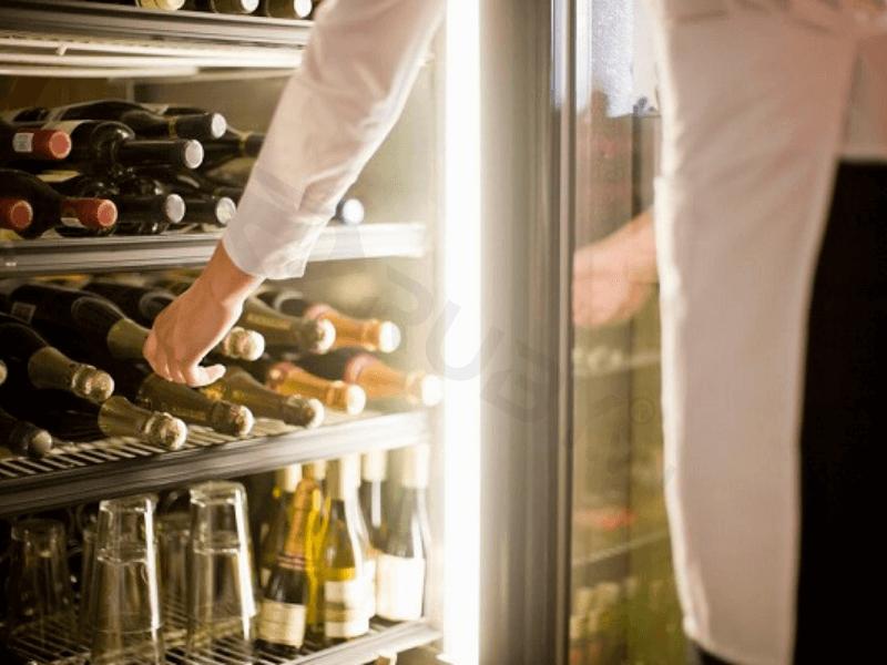 Bảo quản rượu vang trong tủ lạnh