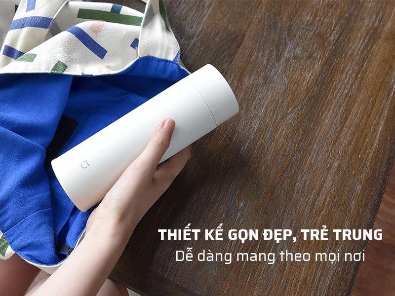 Bình giữ nhiệt inox có thiết kế nhỏ gọn, trẻ trung