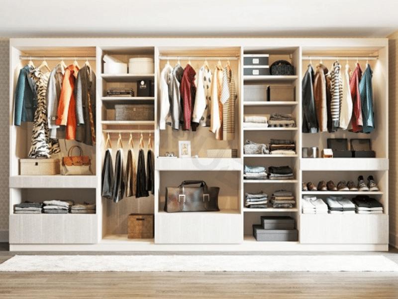 cách chống ẩm mốc tủ quần áo
