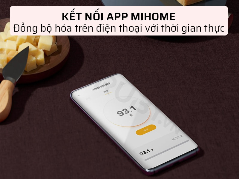 Xiaomi Hoto QWCFC001 kết nối app mihome