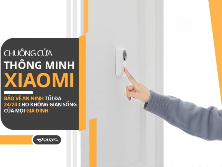 Chuông cửa Xiaomi chất lượng cao phù hợp mọi gia đình