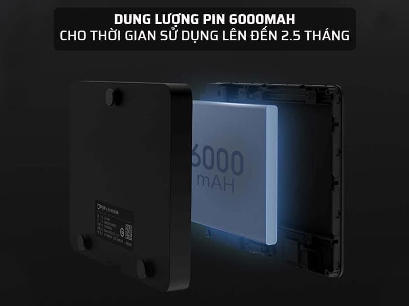 Chuông cửa camera không dây có dung lượng pin lớn 6000mAh
