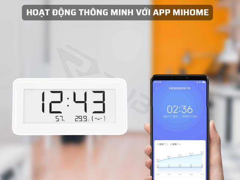 Hoạt động thông minh thông qua App Mihome