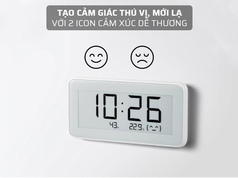 Đồng hồ tích hợp 2 icon dễ thương
