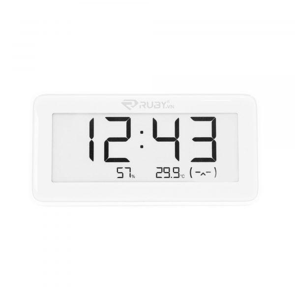 Đồng hồ tích hợp đo độ ẩm, nhiệt độ Xiaomi Mijia LYWSD02MMC