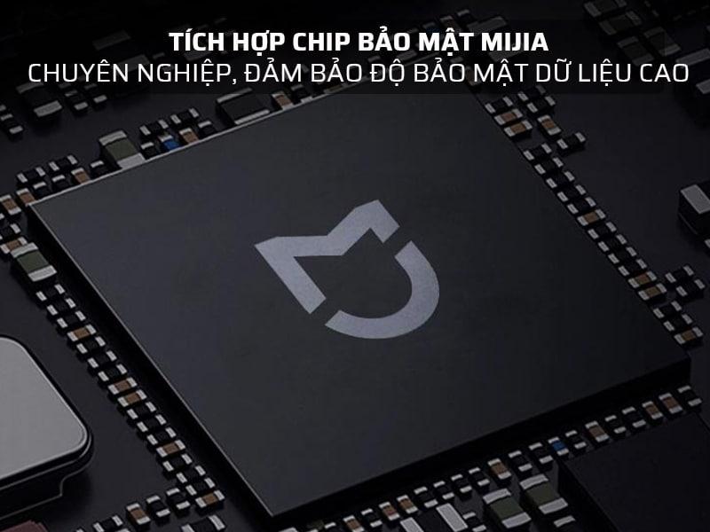Két sắt công nghệ cao được tích hợp chip bảo mật tùy chỉnh