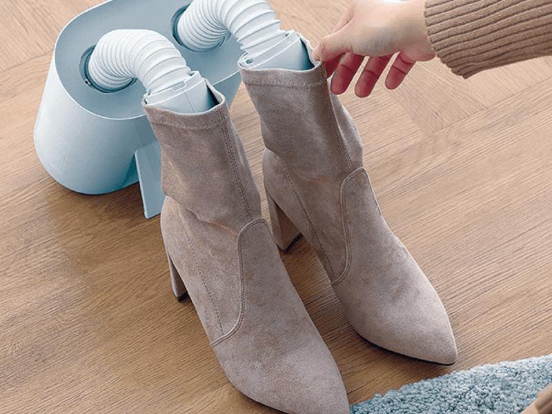 Một số lưu ý khi sử dụng máy sấy giày