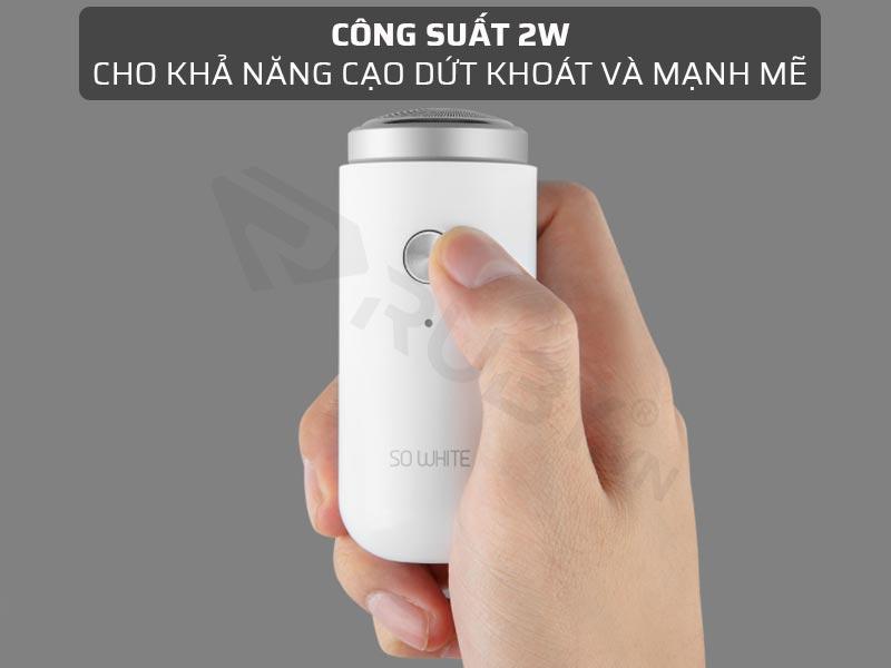Máy cạo râu Xiaomi PINJING ED1 có công suất 2W