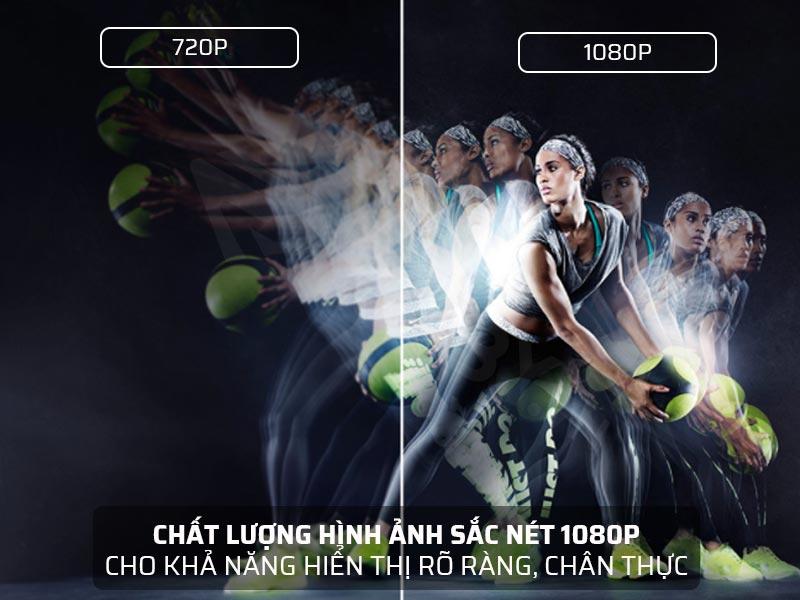 Chất lượng hình ảnh sắc nét 1080P
