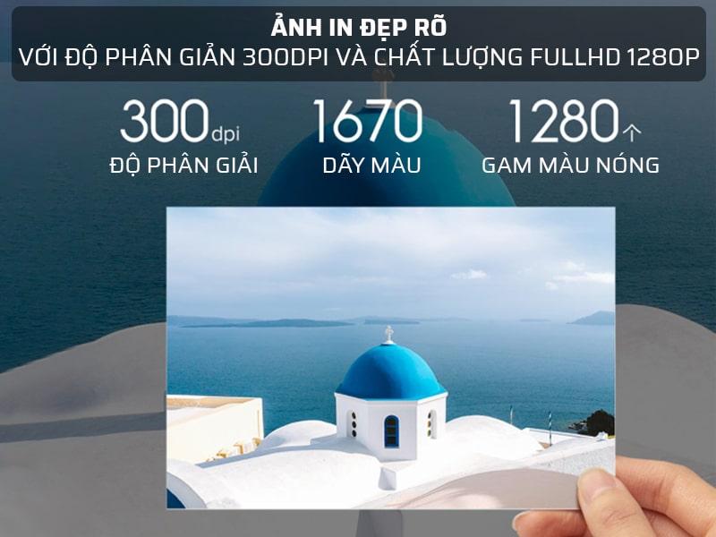 Hình ảnh sắc nét, đẹp, rõ với chất lượng Fulll HD 1280P