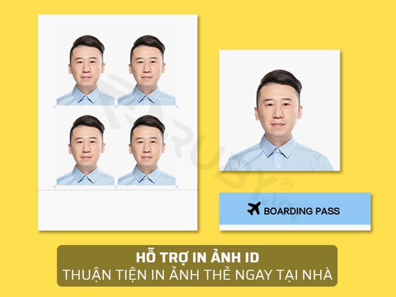 Chụp ảnh thẻ dễ dàng với máy in ảnh màu mini