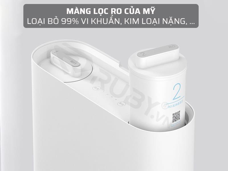 Máy lọc nước RO loại bỏ 99% vi khuẩn