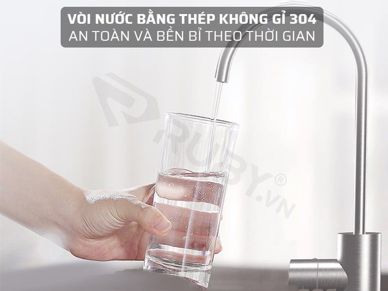 Vòi nước bằng thép không gỉ 304