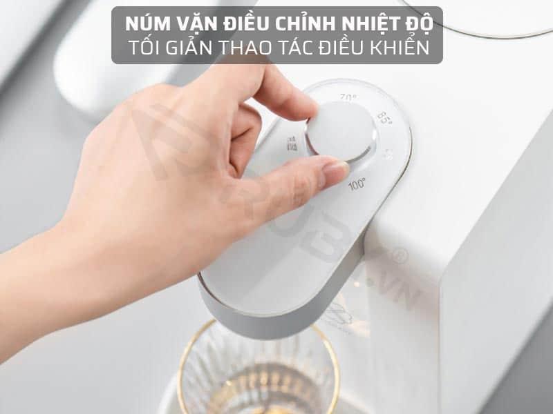 Máy nước nóng để bàn trang bị núm vặn điều chỉnh nhiệt độ