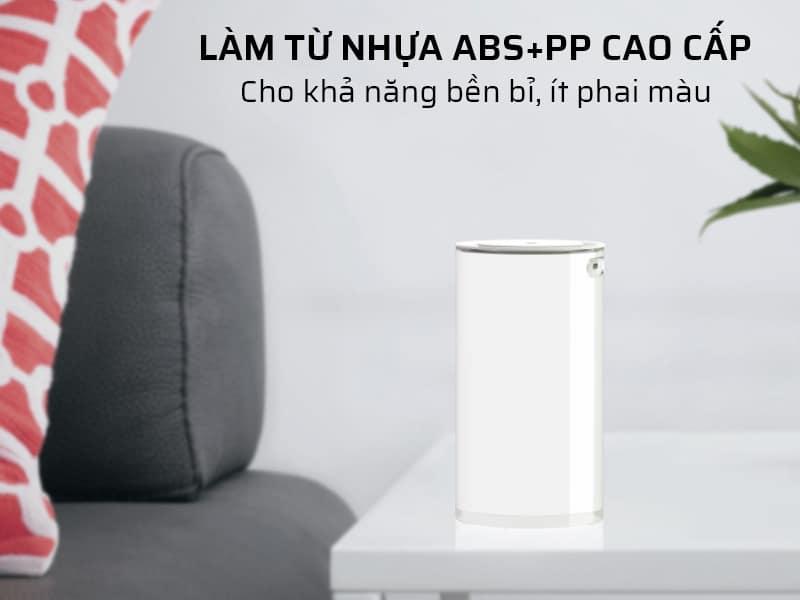 Làm từ nhựa ABS+PP cao cấp