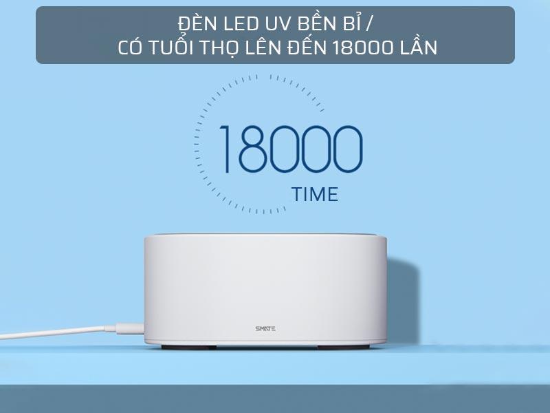 Đèn LED UV máy tiệt trùng UV-C Xiaomi SMATE SX-01 bền bỉ 1500 giờ