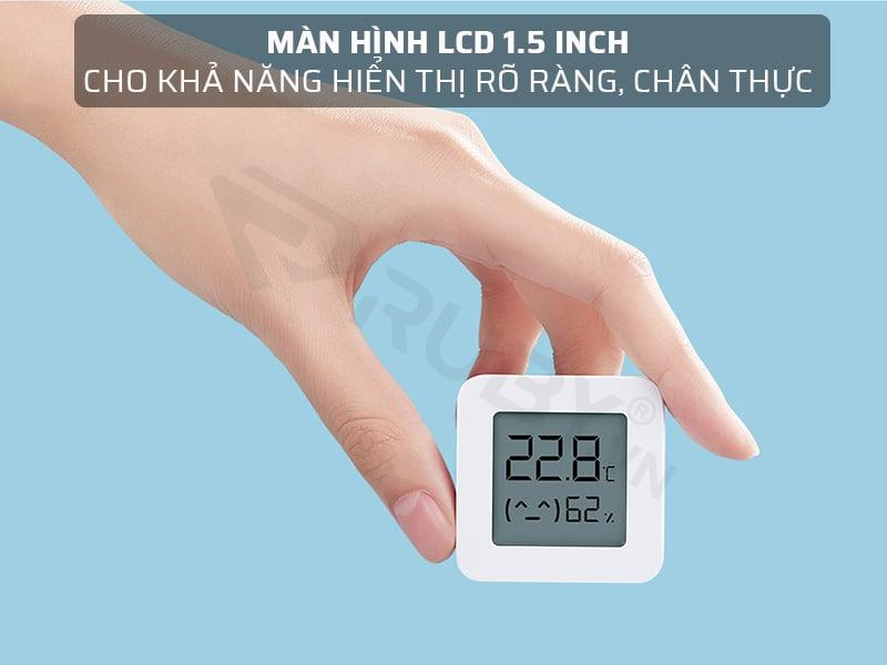 Máy đo nhiệt độ nhiệt độ Xiaomi có màn hình LCD 1.5 inch