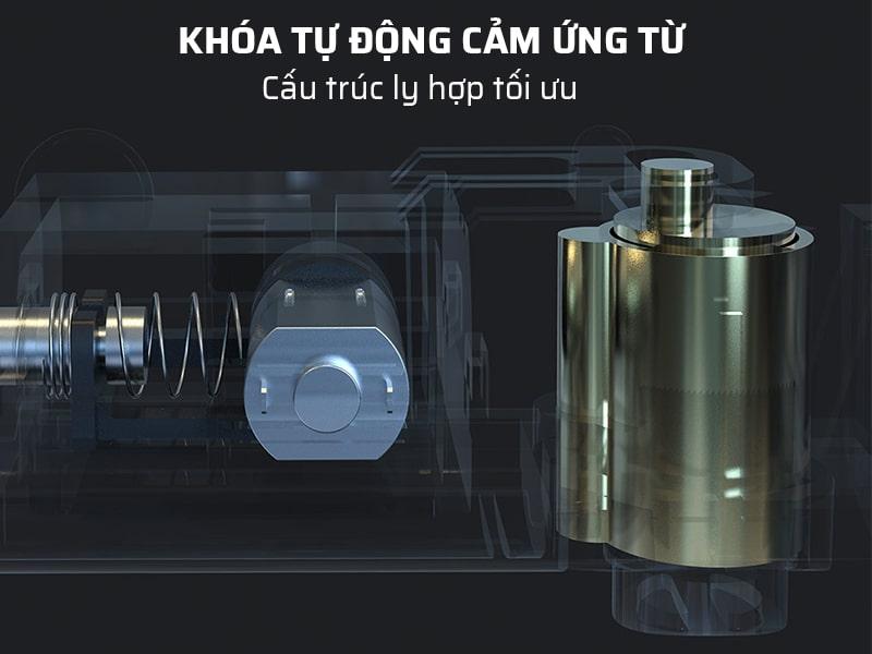ổ khóa chống trộm xe máy có khóa tự động cảm ứng từ