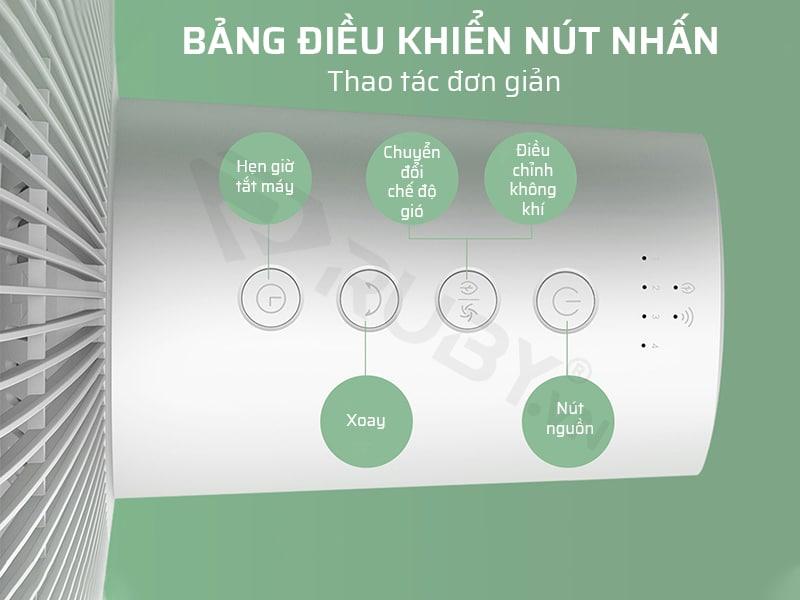 Bảng điều khiển nút nhấn, thao tác đơn giản