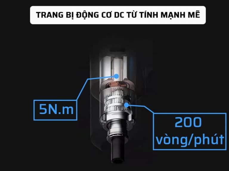 Động cơ DC trong súng bắn vít đa năng Xiaomi mạnh mẽ