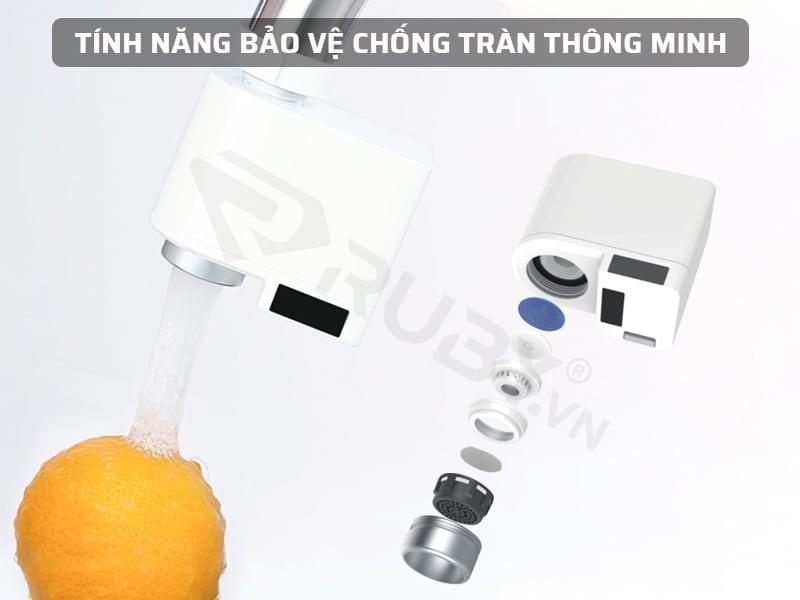 Bộ cảm biến vòi nước Xiaomi có tính năng chống tràn thông minh