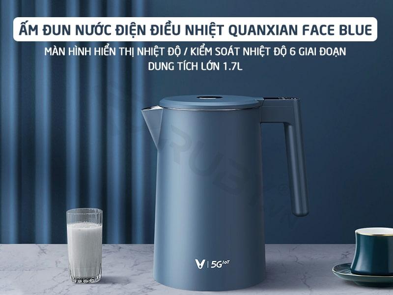 Ấm đun nước điện điều nhiệt Xiaomi Viomi FACE YM-K1706