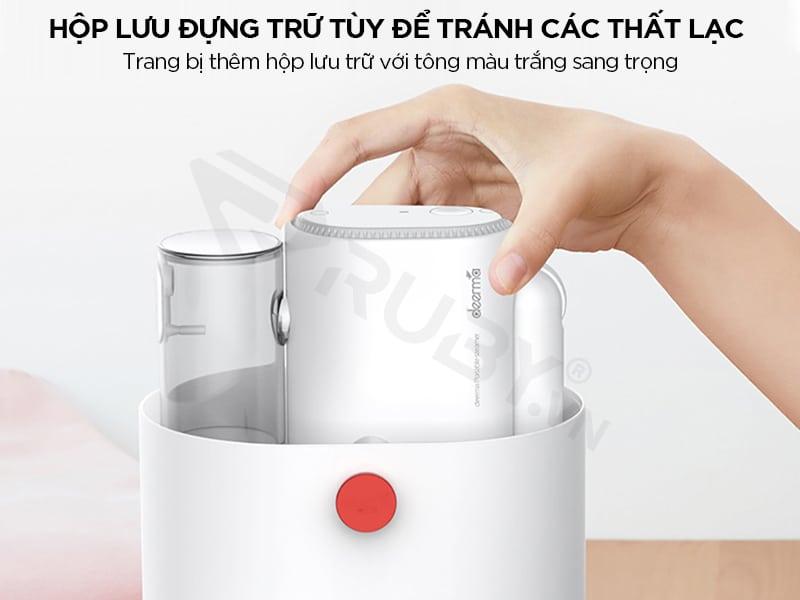 Bàn ủi hơi nước Deemar hộp lưu trữ sang trọng