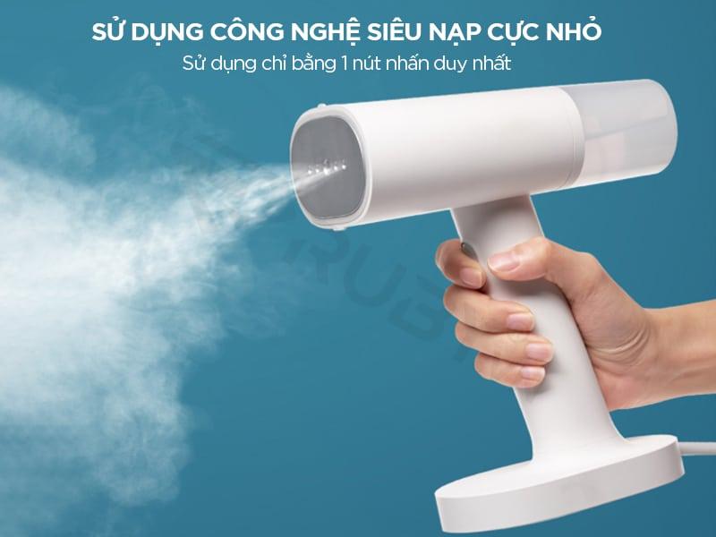 bàn ủi hơi nước cầm tay mini