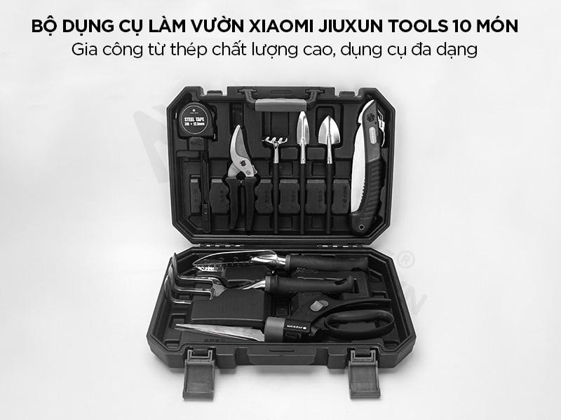 Bộ dụng cụ làm vườn 10 in 1 Xiaomi Jiuxun Tools