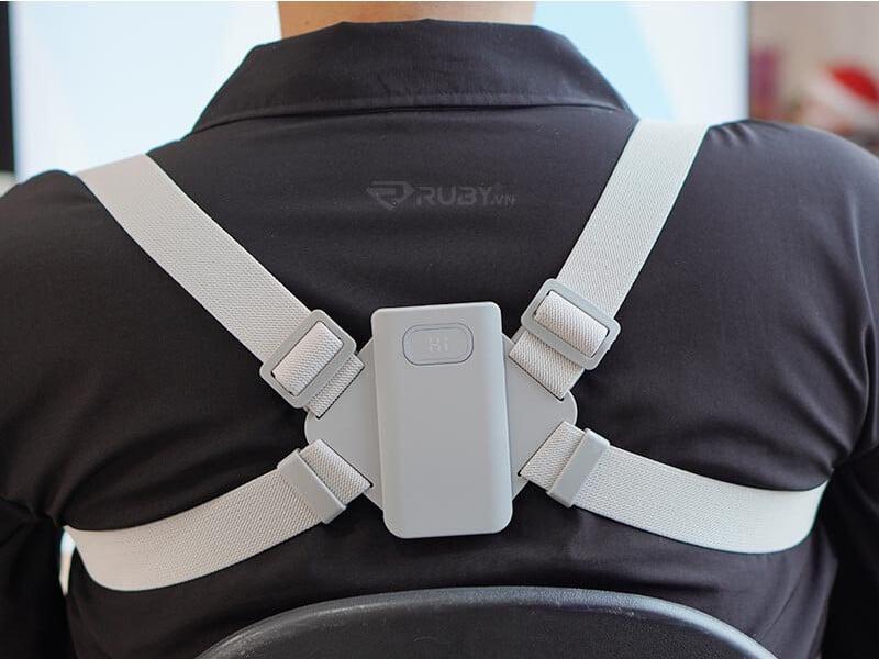 Cách sử dụng đai đeo chống gù lưng