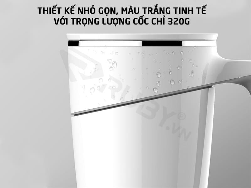 Cốc uống nước thông minh có trọng lượng 320g
