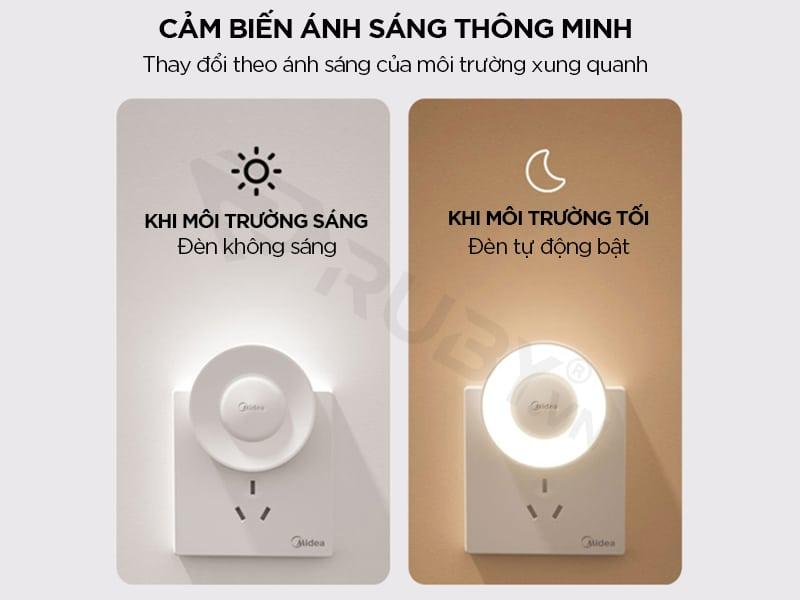 đèn ngủ cảm biến ánh sáng xiaomi