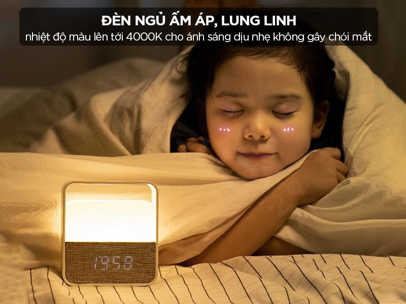 Đèn ngủ Xiaomi ấm áp, lung linh