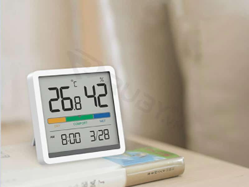 Đồng hồ nhiệt ẩm kế Xiaomi Miiiw Mute NK5253
