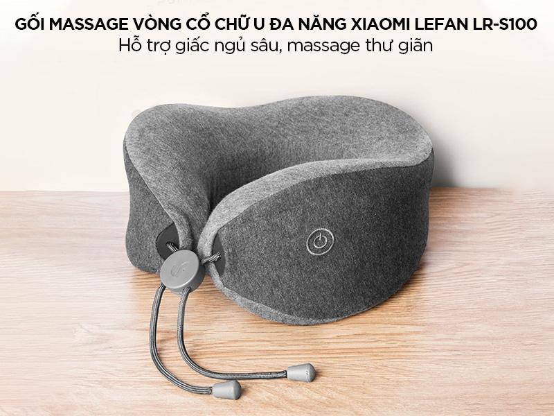 Gối massage vòng cổ chữ U đa năng Xiaomi Lefan LR-S100