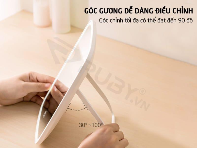 Góc gương xiaomi có thể điều chỉnh dễ dàng