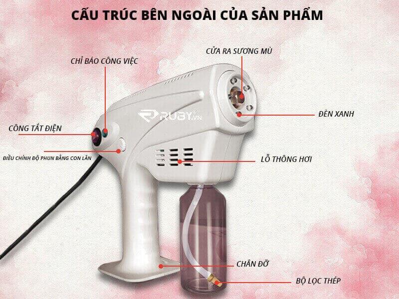 Hướng dẫn cách sử dụng máy khử khuẩn