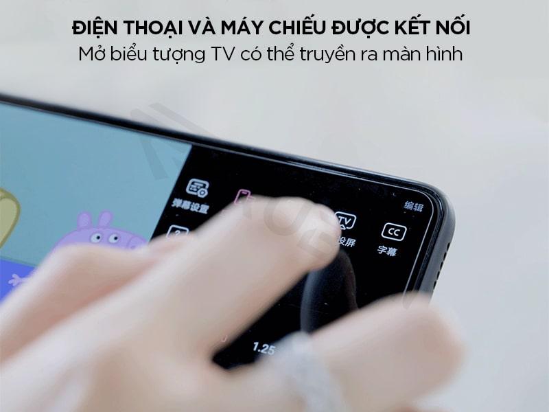 kết nối qua điện thoại
