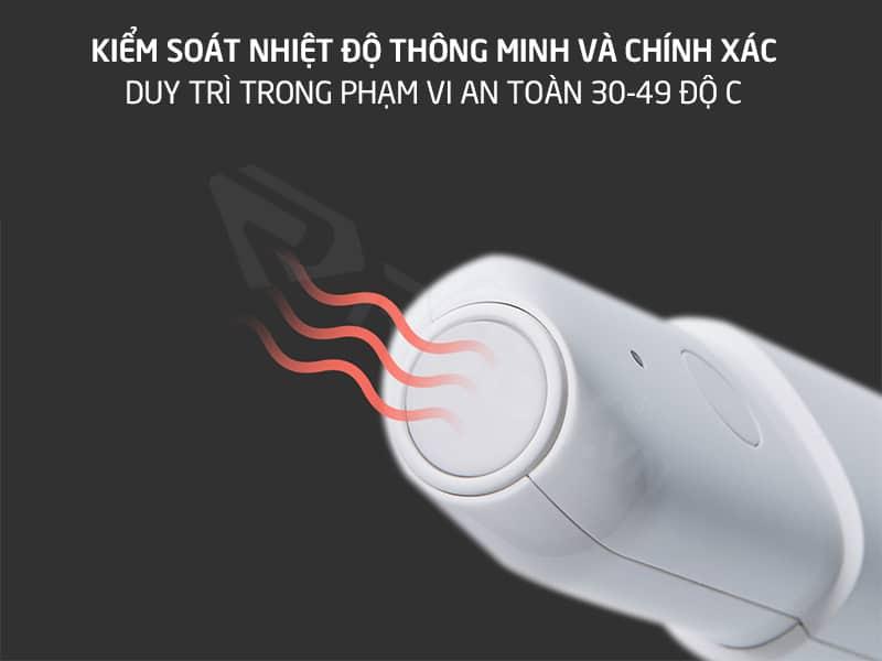 Kiểm soát nhiệt độ thông minh và chính xác