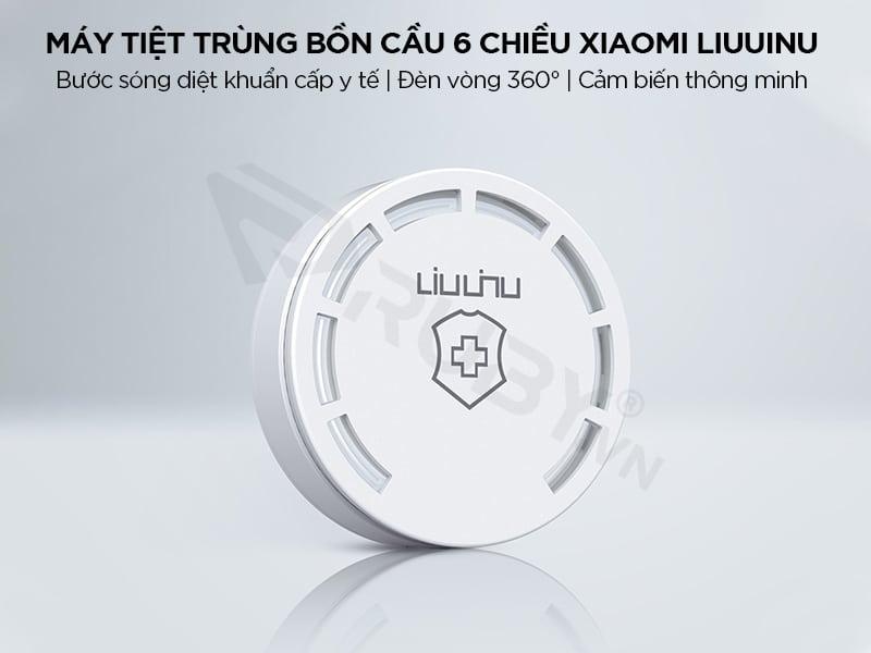 Máy khử trùng bồn cầu 6 chiều Xiaomi LIUUINU LSZWD02W