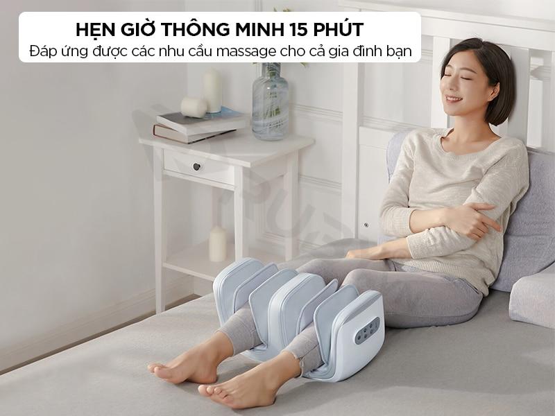 Tính năng hẹn giờ thông minh của máy massage mới