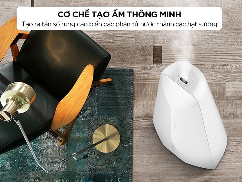 Máy tạo ẩm Xiaomi Deerma có cơ chế tạo ẩm thông minh