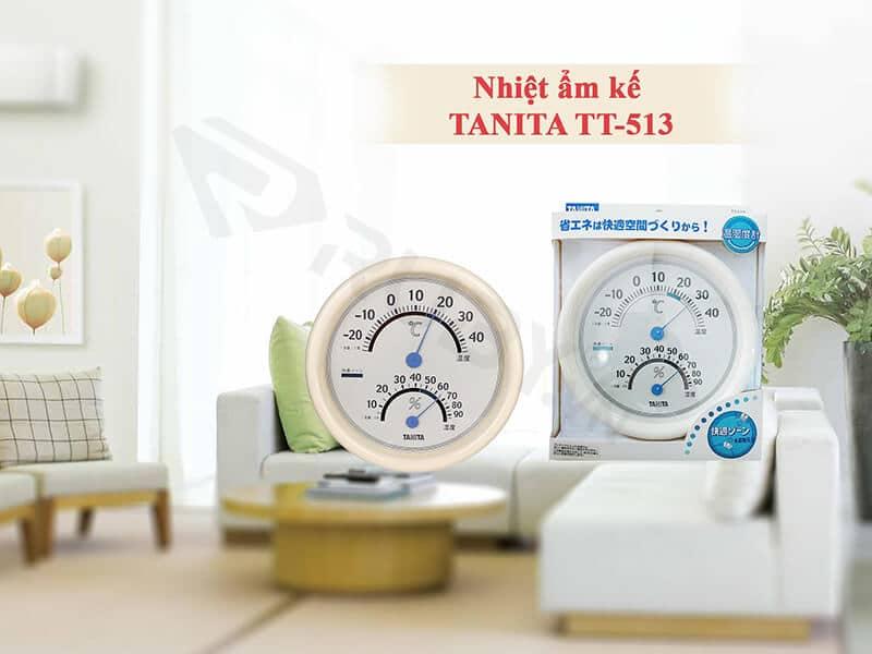 Nhiệt kế ẩm Tanita Model TT513