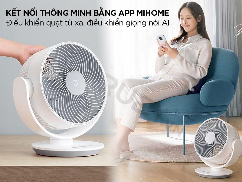 Điều khiển từ xa thông qua App Mihome