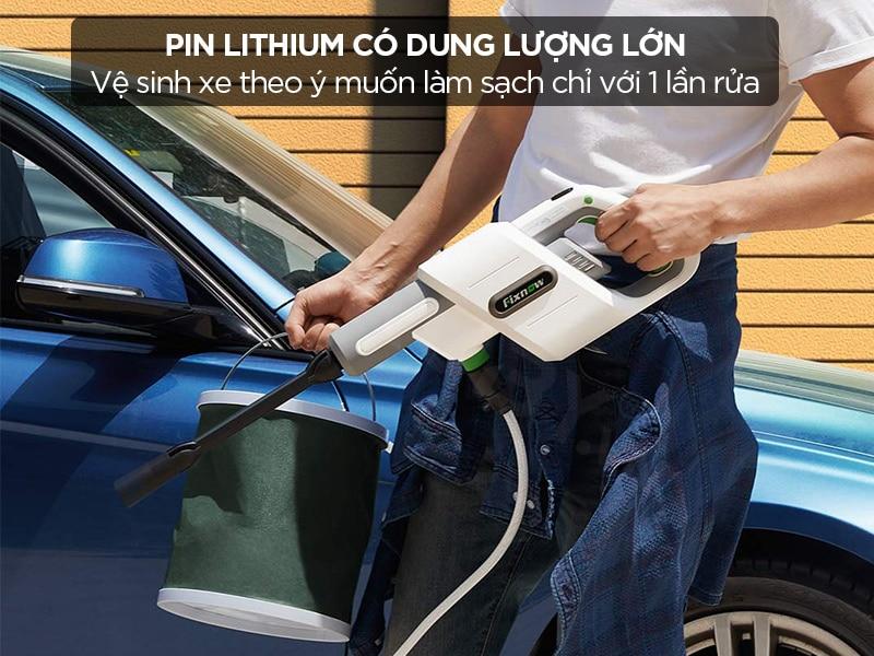 Pin lithium dung lượng lớn