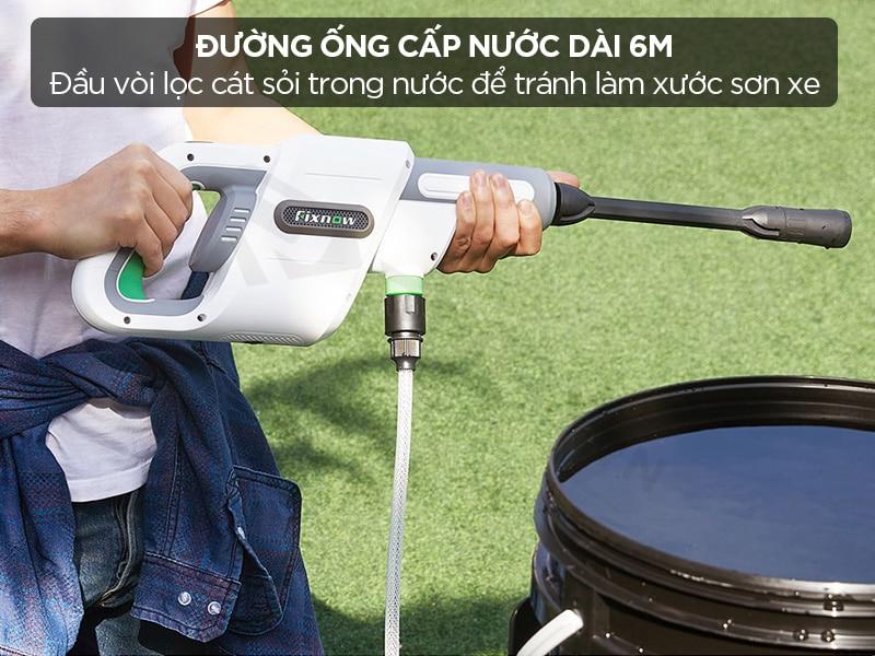 Đường ống cấp nước máy rửa xe Xiaomi dài 6 mét