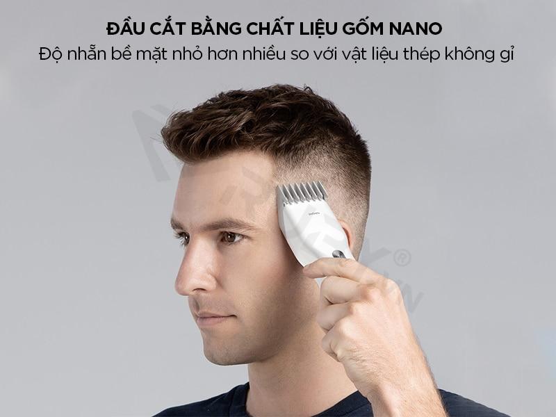 Tông đơ cắt tóc gốm nano