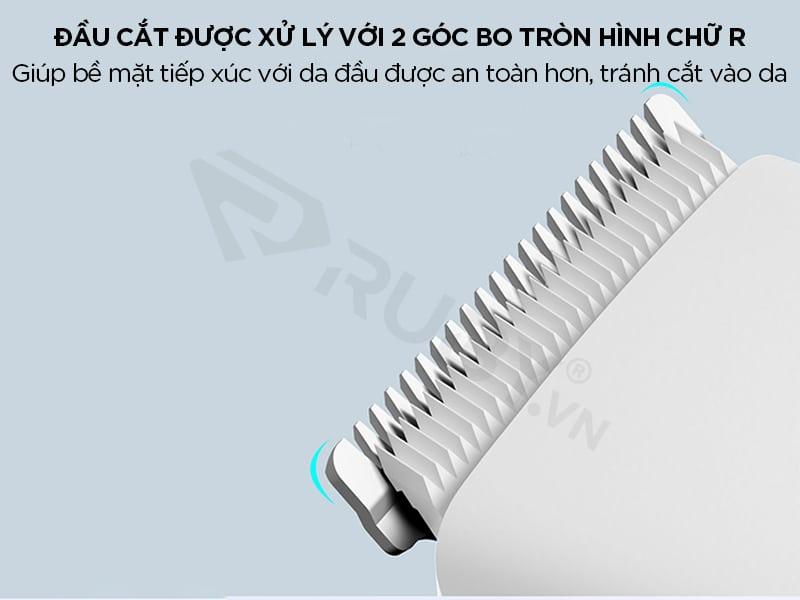 Tông đơ Xiaomi có đầu cắt sắc bén